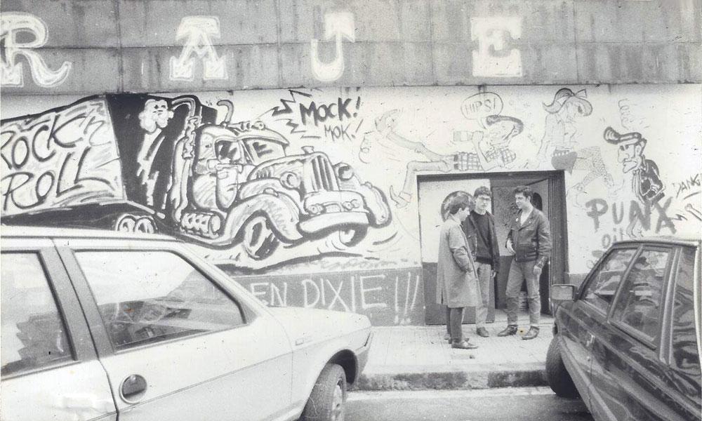 El Garaje. Bilbao. 1985