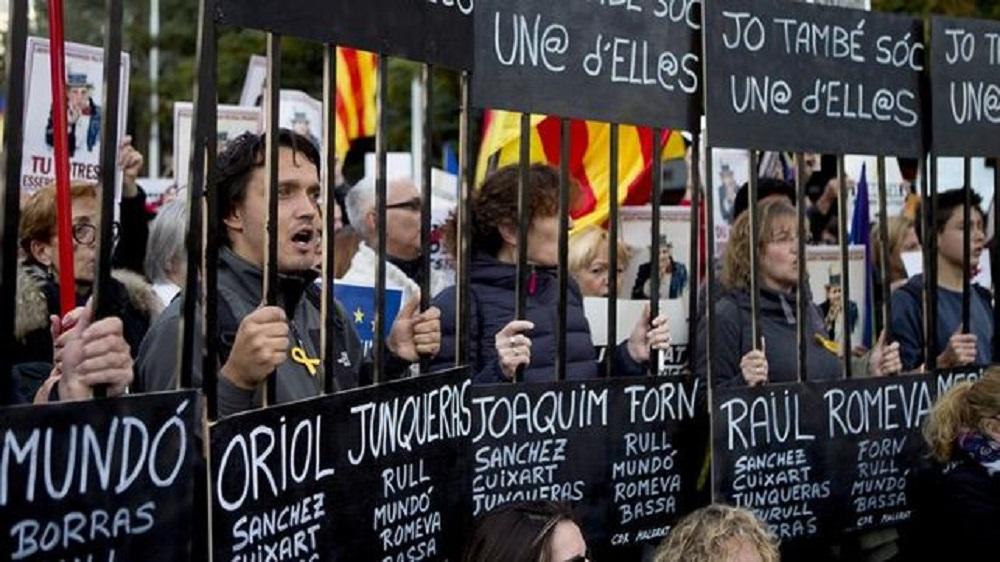 Manifestación Cataluña