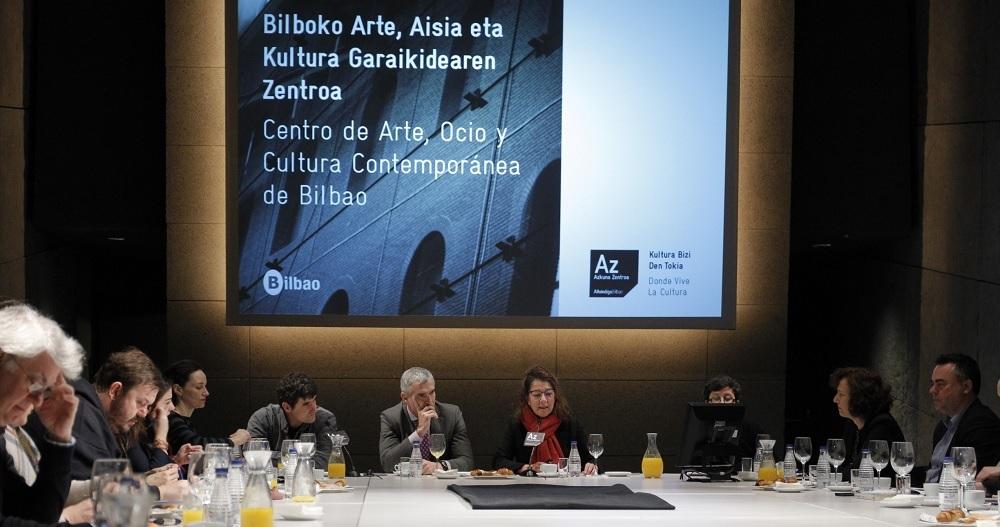 Presentación de los planes estratégicos 2018 de Azkuna Zentroa Bilbao // Az