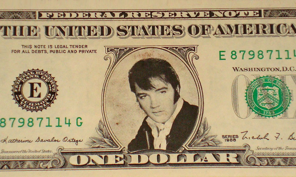 Elvis one dollar