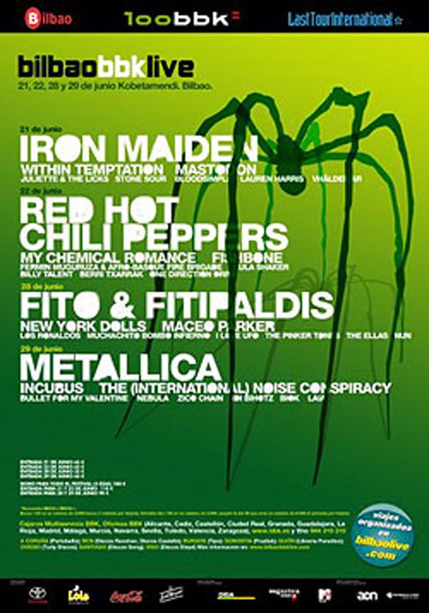 Bilbao BBK Live 2007