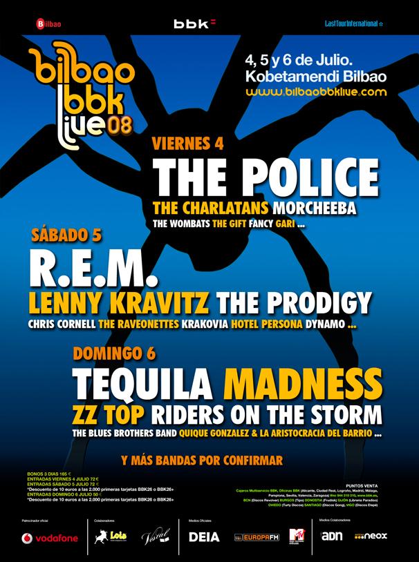 Bilbao BBK Live 2008