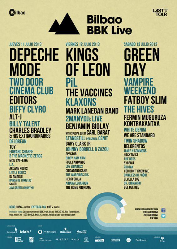 Festival Bilbao BBK Live 2013
