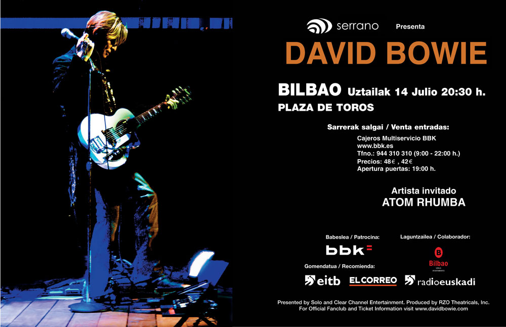 Bowie Bilbao