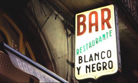 El bar-restaurante Blanco y Negro (Bilbao)