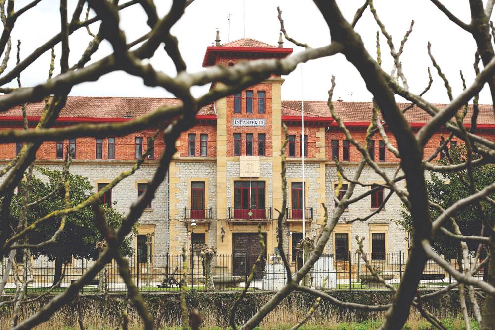 Cuartel del Ejército en Donostia