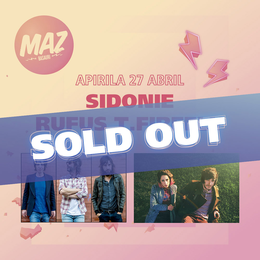Sidonie, sold out en MAZ Basauri