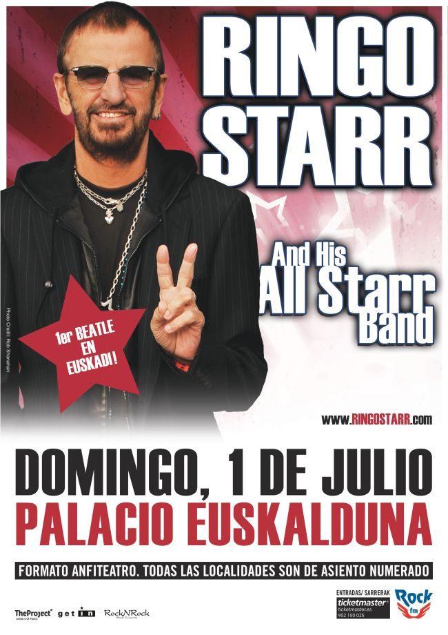 Ringo Starr Bilbao