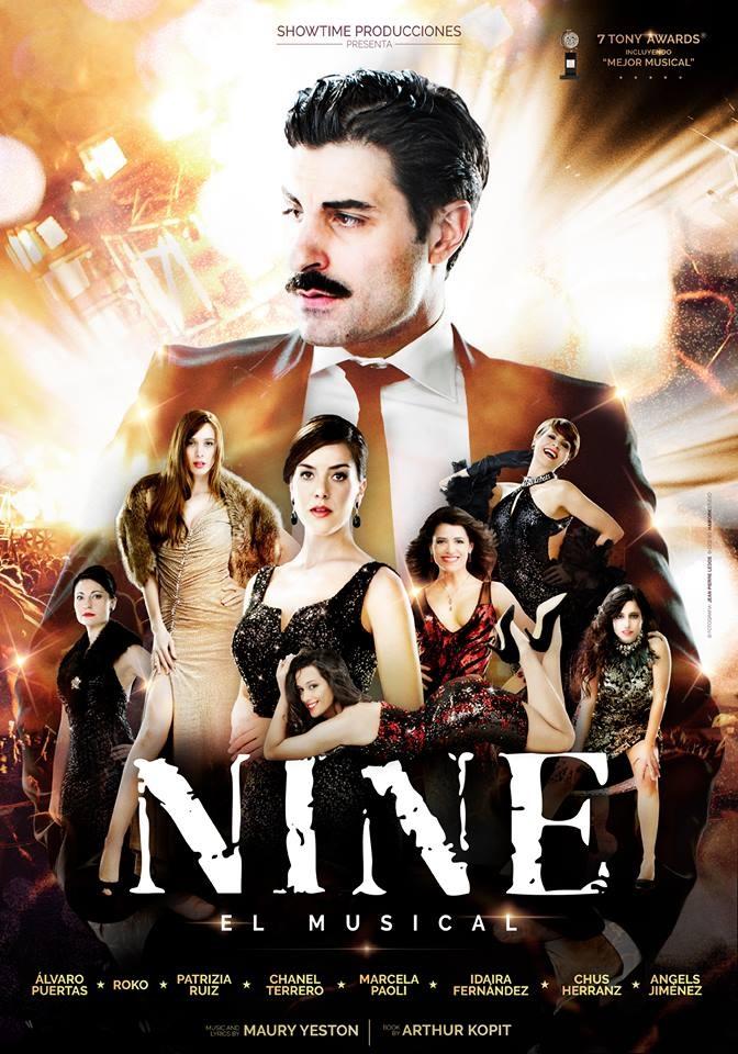 Nine, el musical llega a Madrid (Teatro Amaya)