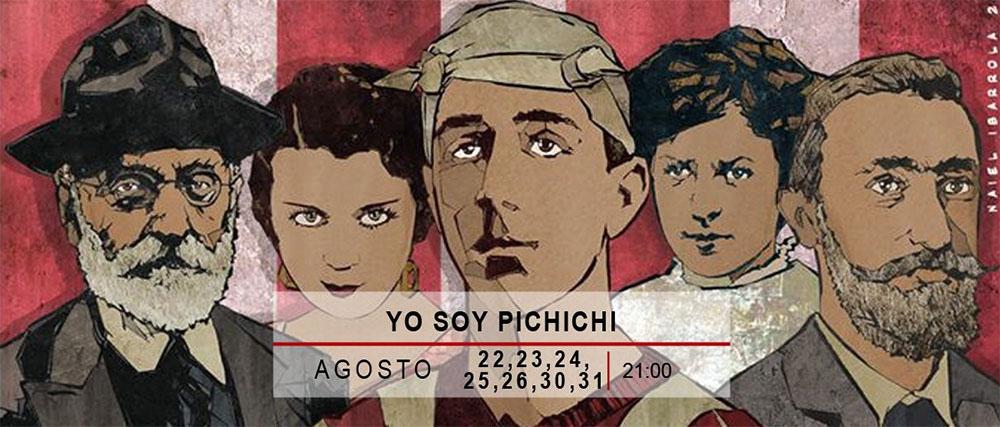 """Cartel de """"Yo soy Pichichi"""" (Pabellón 6)"""