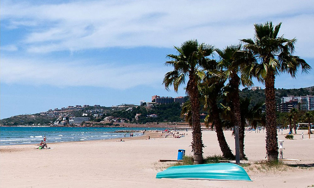 Playa en Benicássim