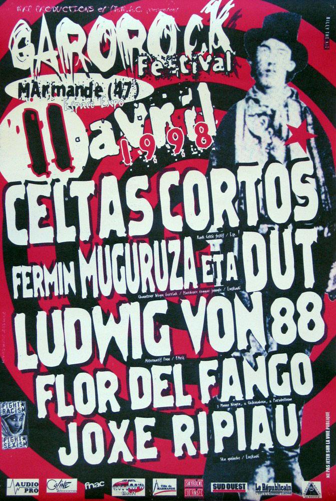 Garorock cartel 1998
