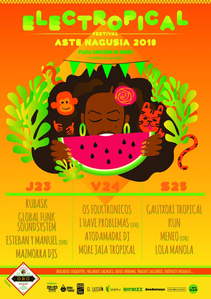 Cartel de Electropical 2018