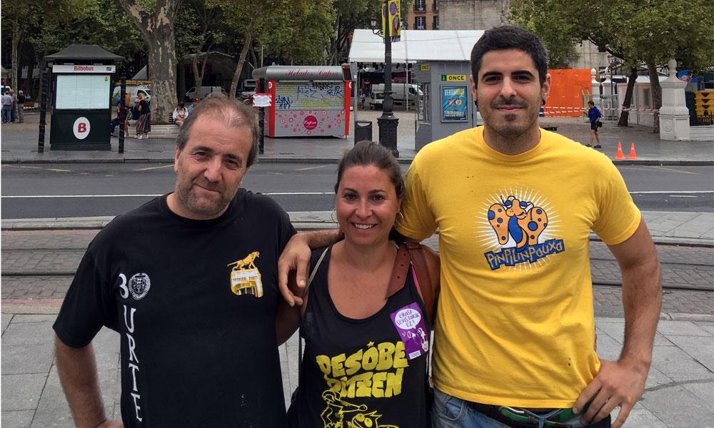 Comparseros de Bilbao
