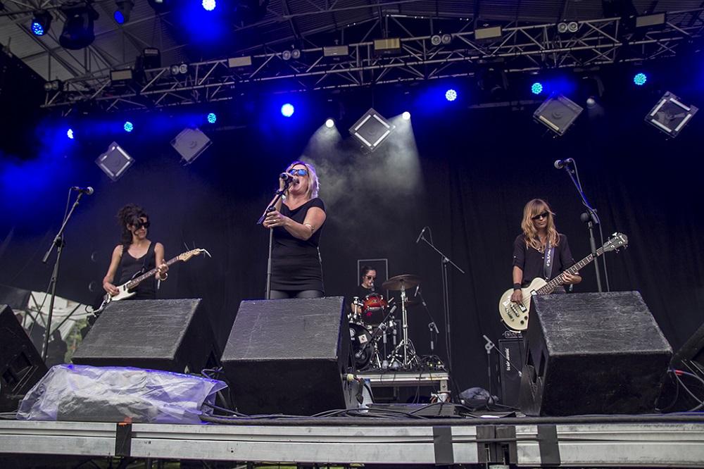 Moonshakers en concierto