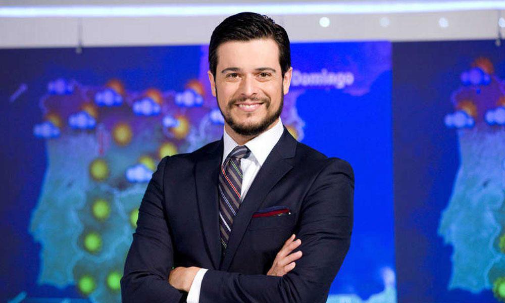 Martín Barreiro, hombre del tiempo