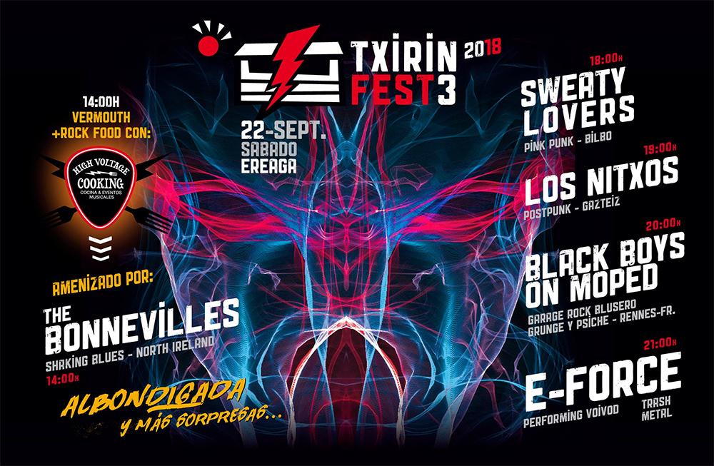 Txirin Fest 2018, en Txiringuito Ereaga