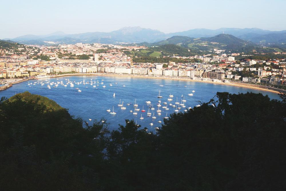 San Sebastián en verano