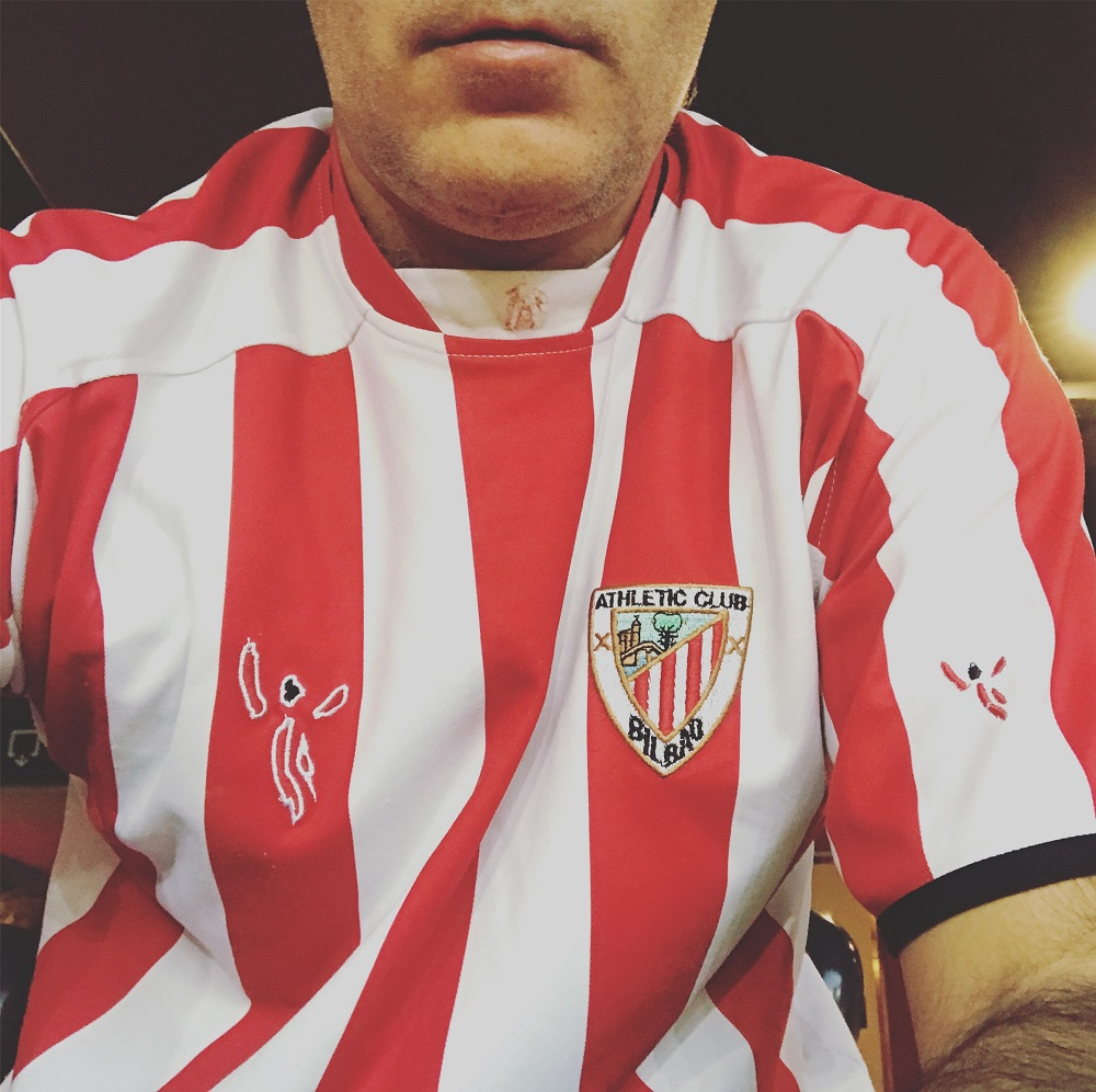 Camiseta del Athletic Club de Bilbao