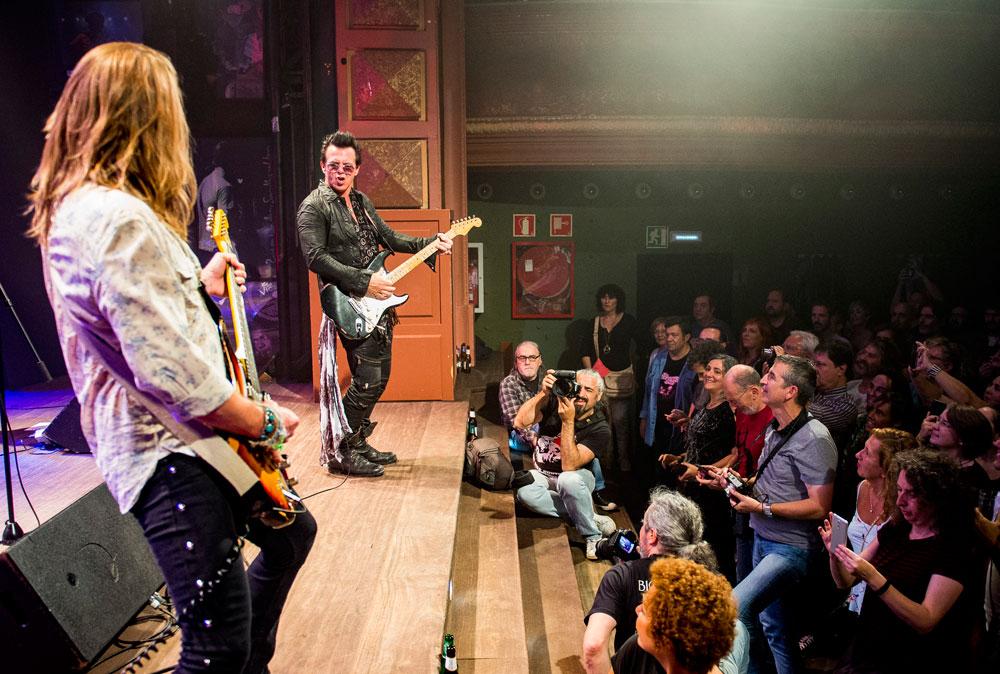 Mike Farris, en concierto en Bilbao