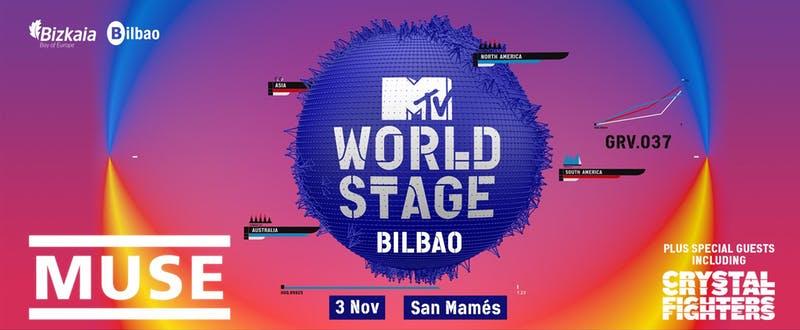 Muse, en los premios MTV en Bilbai