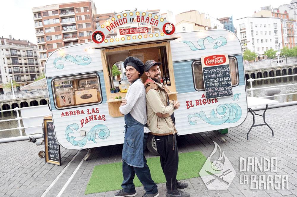 Food truck de Dando la Brasa