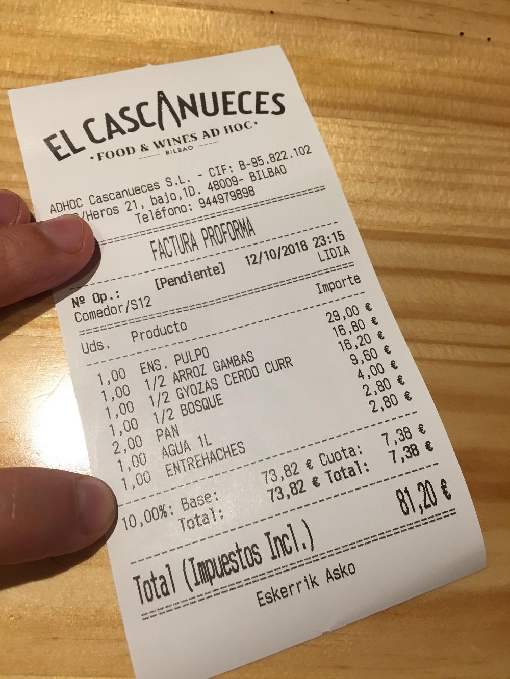 Restaurante Cascanueces (Bilbao)