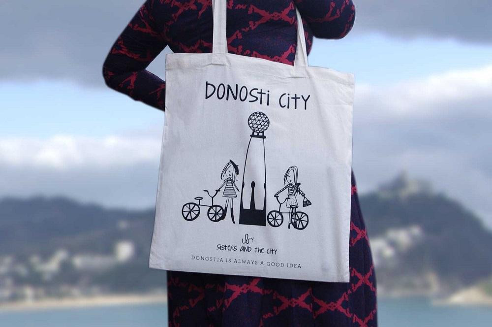 Tote bag Donostia
