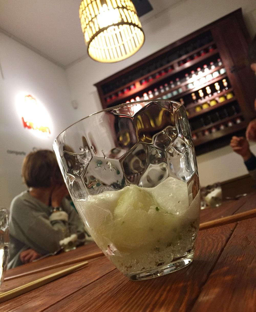 Gin tonic de postre en Kitxen (Bilbao)