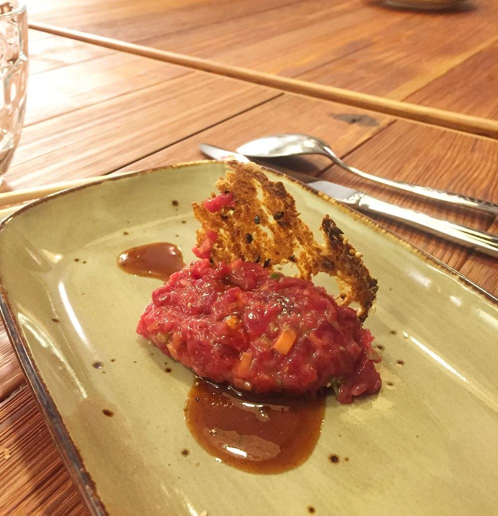 Steak tartar del restaurante Kitxen (Bilbao)