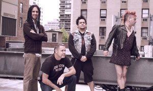La banda punk rock NOFX,
