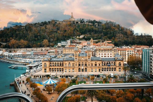 Vistas de San Sebastián desde la noria