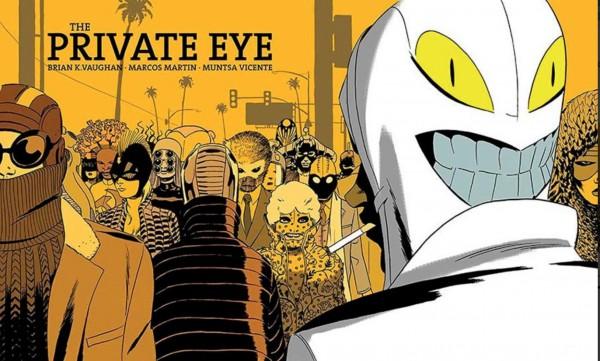 "Cómic ""The Private Eye"""