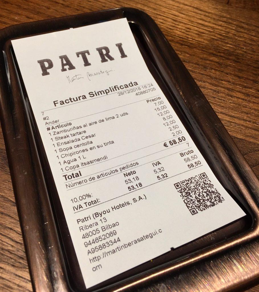 PATRI Gastrobar (Bilbao)