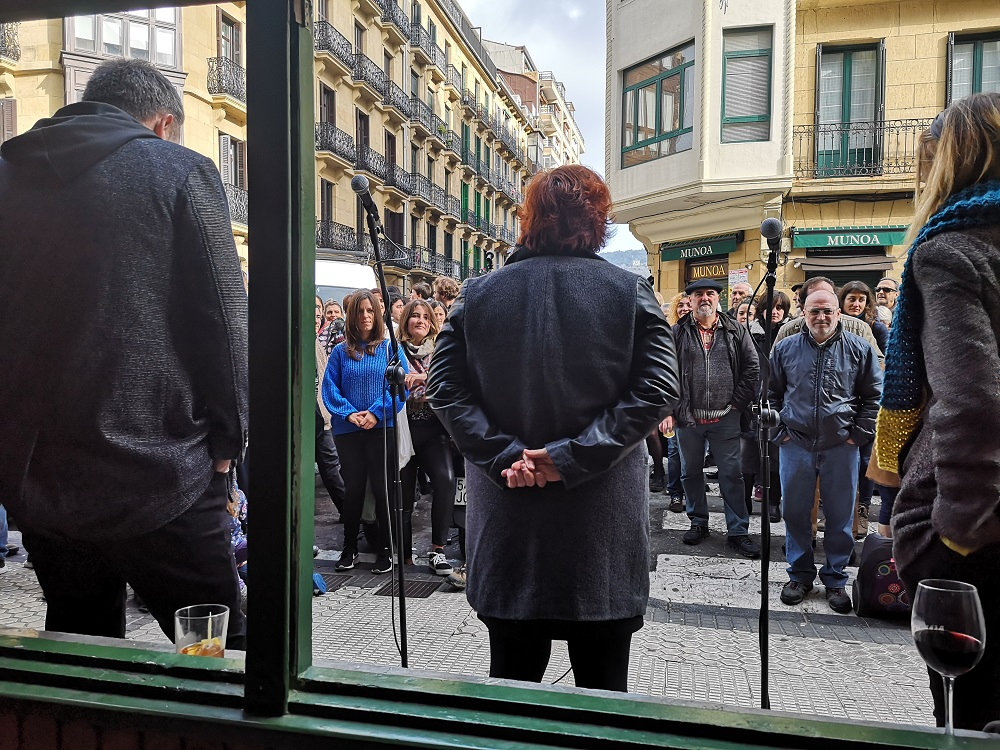 Cierre bar Rekalde (Donostia)
