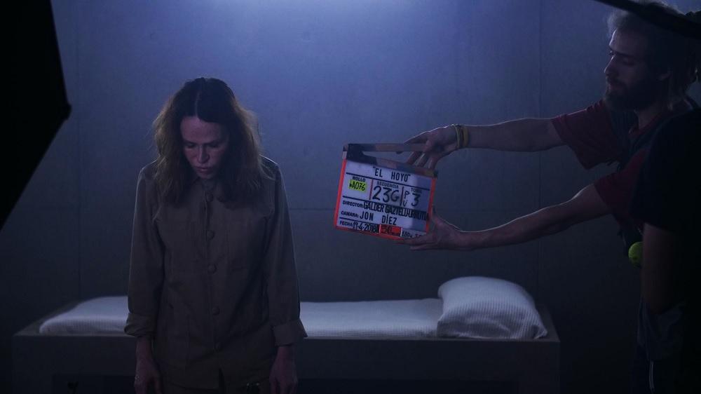 """Imagen de la película """"El hoyo"""""""
