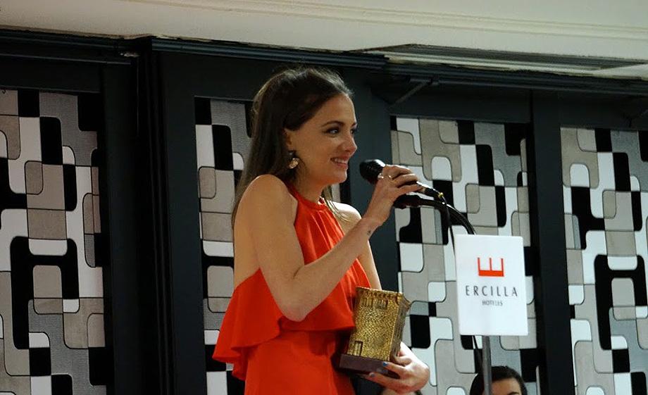 """María Hervás (""""Iphigenia en Vallecas"""")"""