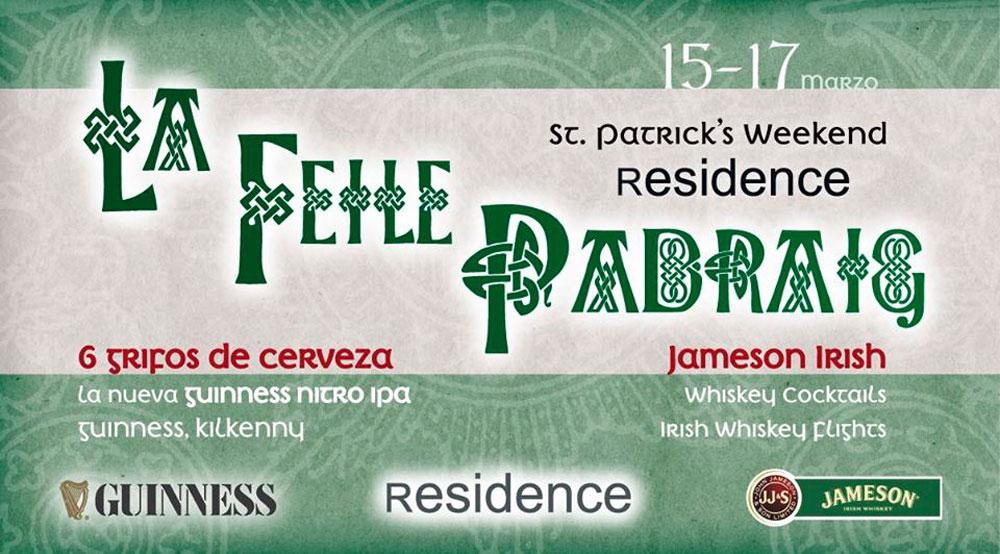 St. Patrick's Day 2019 en Residence (Bilbao)