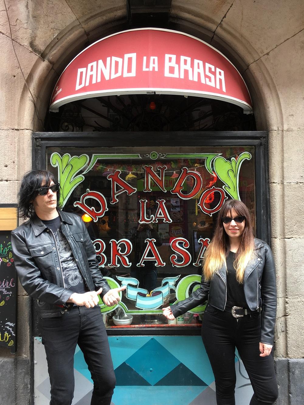 Capsula en Dando La Brasa (Bilbao)