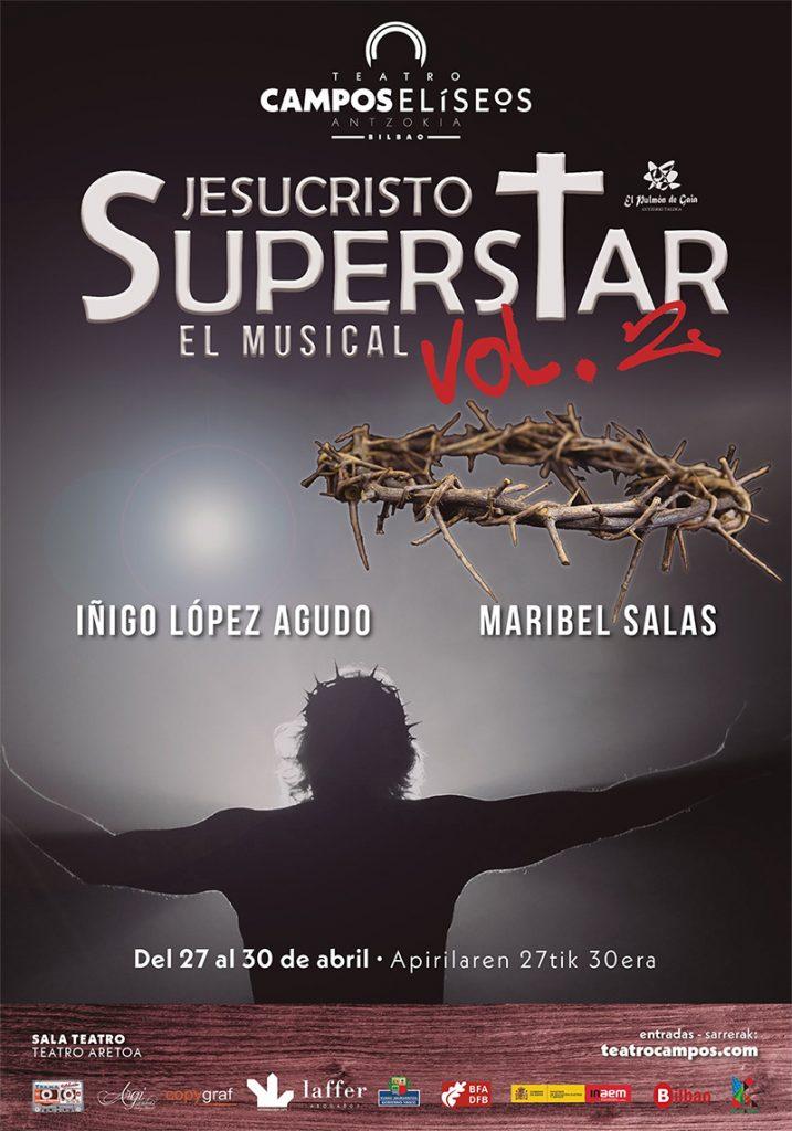 """Cartel de esta nueva producción de """"Jesucristo Superstar"""""""