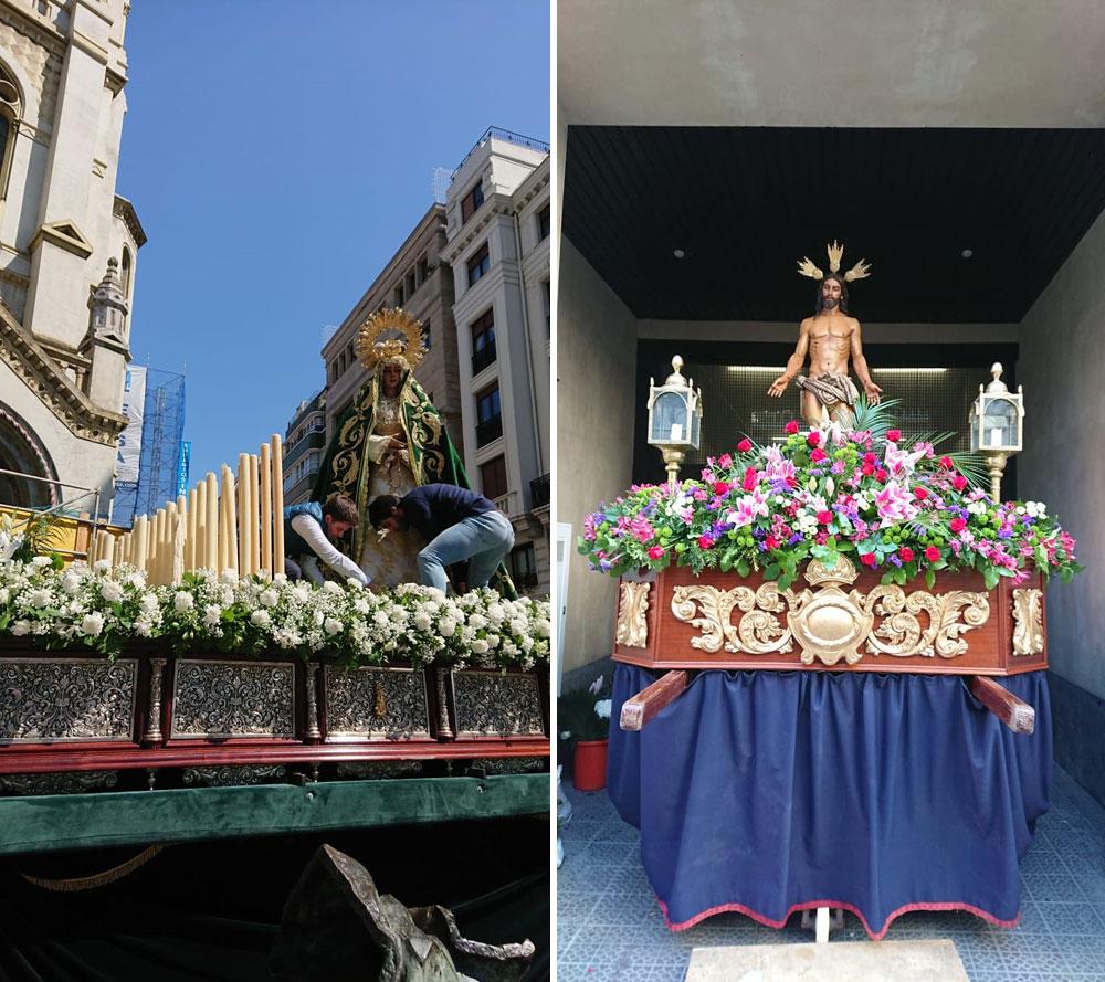 Pasos de la Cofradía de Santiago Apóstol (Bilbao)