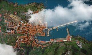 Vista aérea de Bermeo