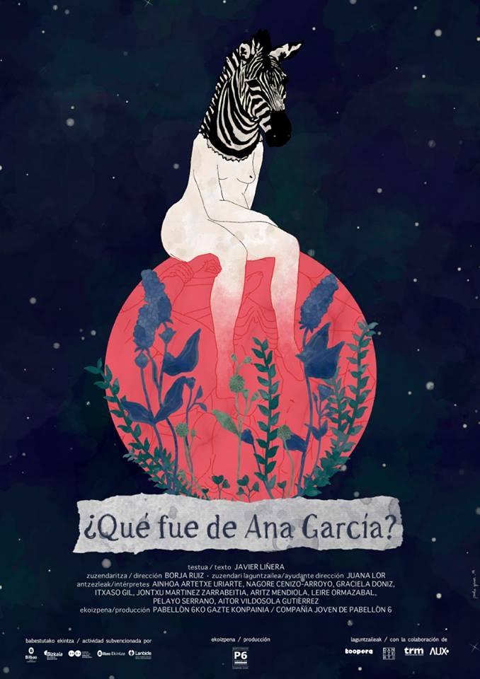 """""""Qué fue de Ana García"""", póster"""