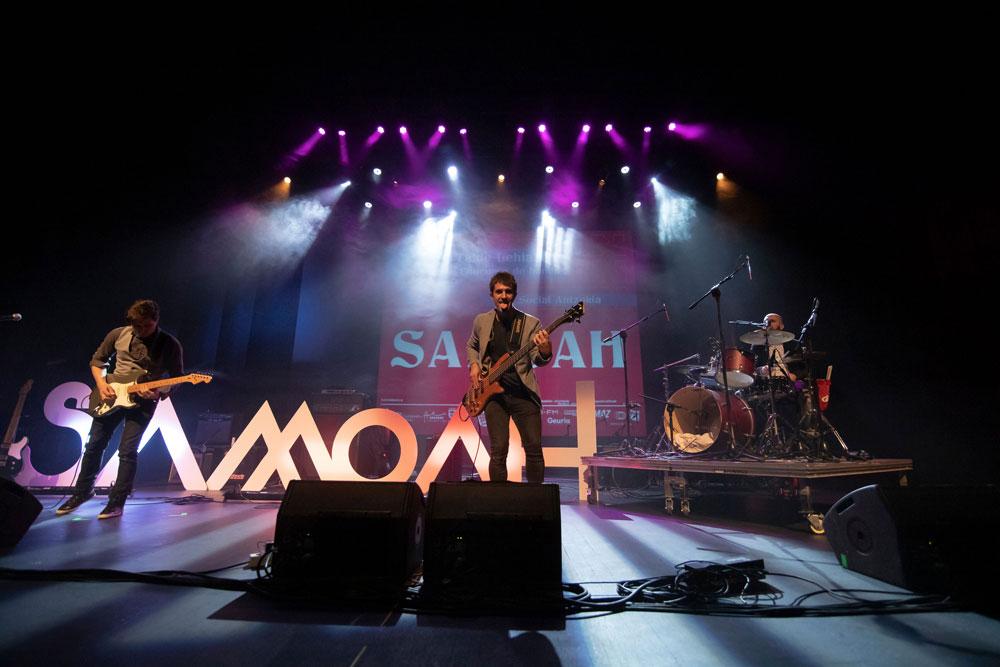 Samoah, en la final concurso Rockein 2019 // David Mars
