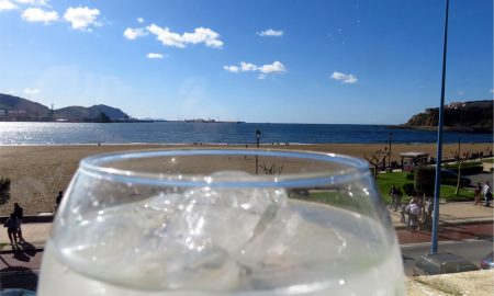 Gin Tonic en Tamarises Izarra (Getxo)