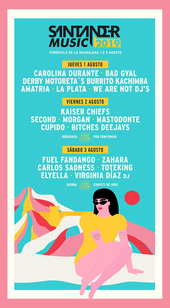 Cartel de Santander Music 2019