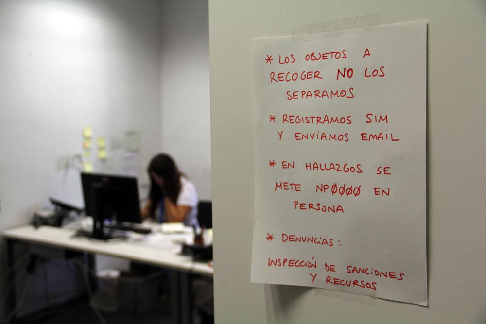 Objetos Perdidos en Bilbao