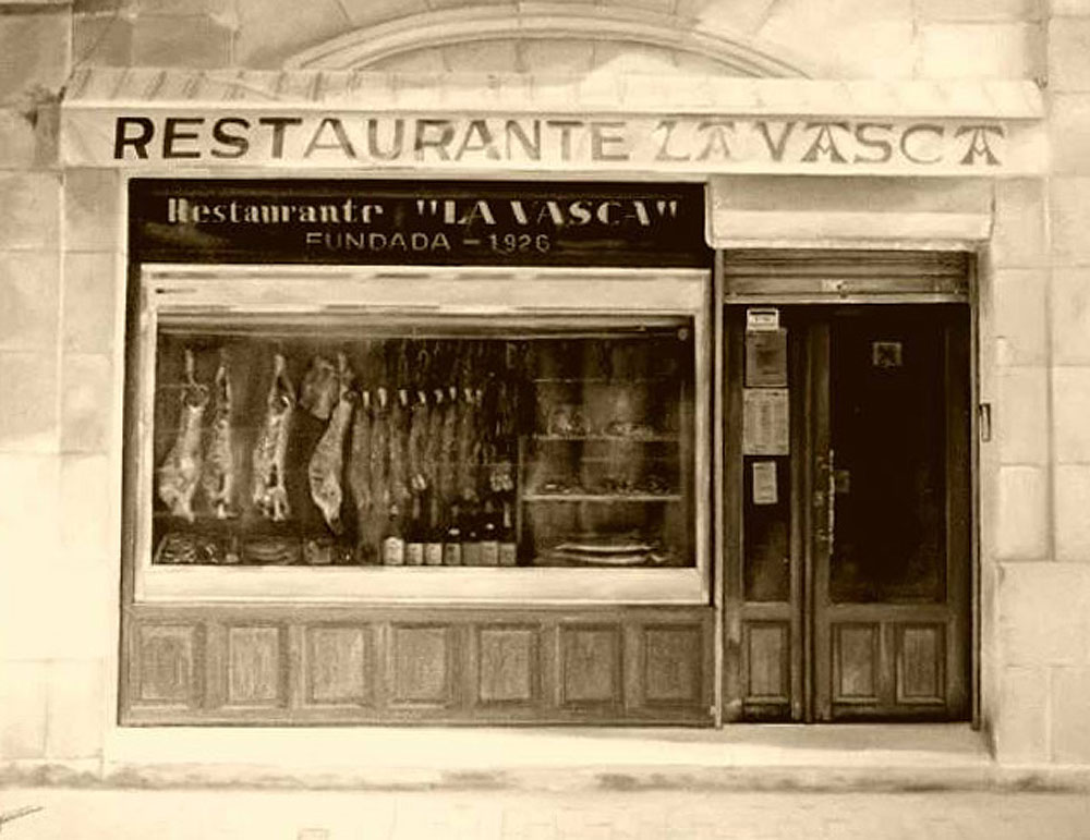 Restaurante La Vasca, en Miranda de Ebro