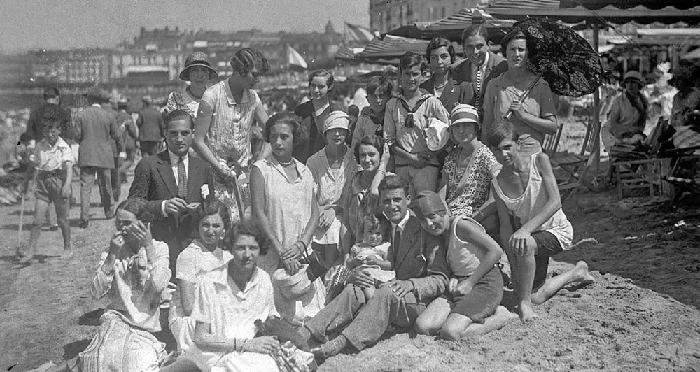 La playa de La Concha (s. XX)