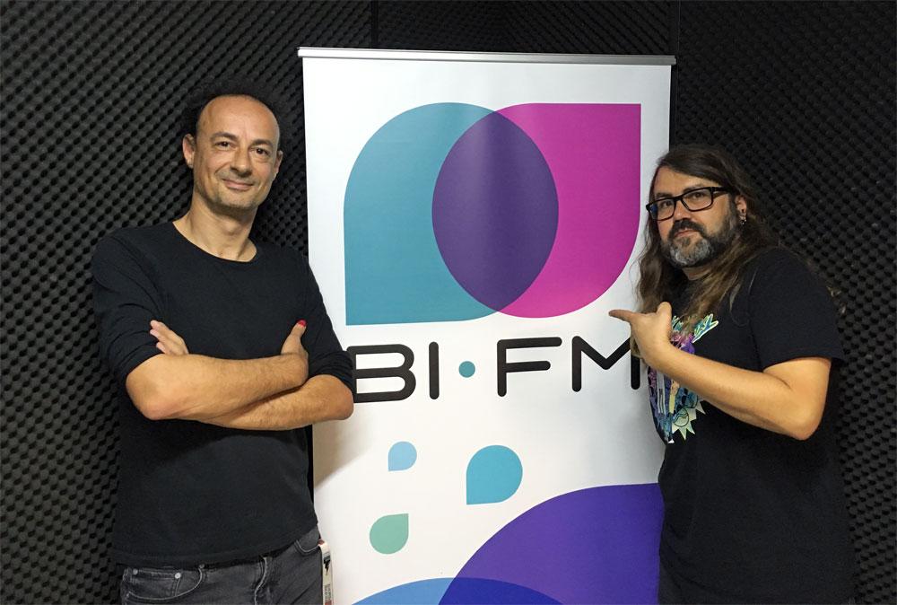 Rubén Lardín, con Borja Crespo en La Hora Caníbal